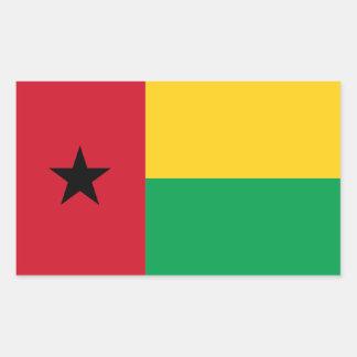 Bandera de Guinea-Bissau Pegatina Rectangular