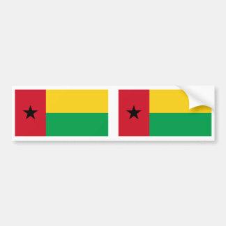 Bandera de Guinea-Bissau Etiqueta De Parachoque