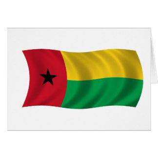 Bandera de Guinea-Bissau Tarjeta