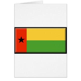 Bandera de Guinea-Bissau Tarjeta De Felicitación