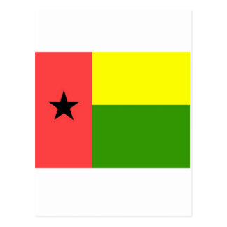 Bandera de Guinea-Bissau Tarjeta Postal