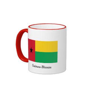 Bandera de Guinea-Bissau Taza A Dos Colores