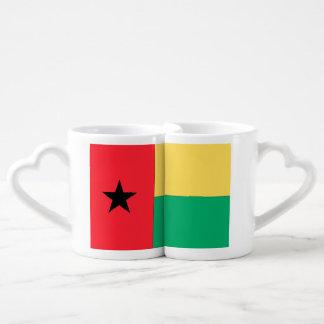 Bandera de Guinea-Bissau Taza Amorosa