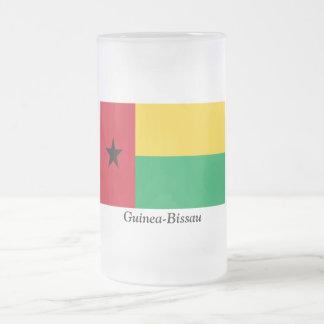Bandera de Guinea-Bissau Taza De Cristal