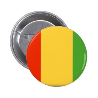 Bandera de Guinea Chapa Redonda 5 Cm