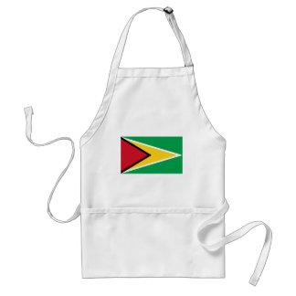 Bandera de Guyana Delantal
