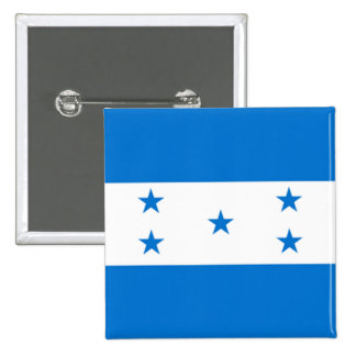 Bandera de Honduras Chapa Cuadrada