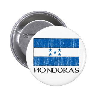 Bandera de Honduras Chapa Redonda De 5 Cm