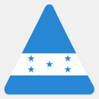 Bandera de Honduras/del Honduran Pegatina Triangular