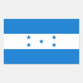 Bandera de Honduras/del Honduran Pegatina Rectangular