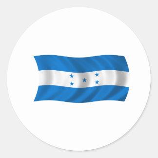 Bandera de Honduras Etiqueta