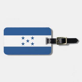 Bandera de Honduras Etiqueta De Equipaje