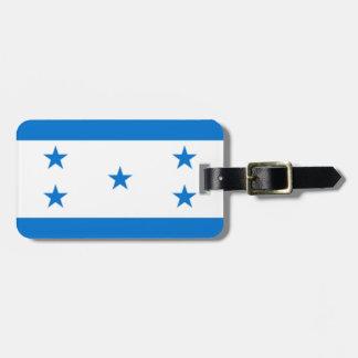 Bandera de Honduras Etiqueta Para Maleta