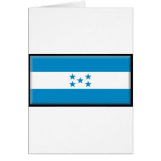 Bandera de Honduras Felicitación