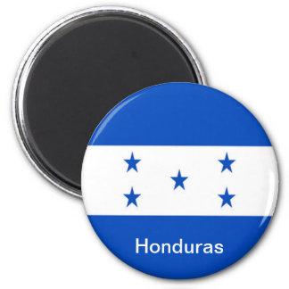 Bandera de Honduras Imán Redondo 5 Cm