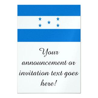 Bandera de Honduras Invitación 12,7 X 17,8 Cm