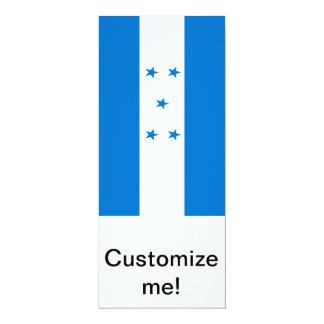 Bandera de Honduras Invitación 10,1 X 23,5 Cm