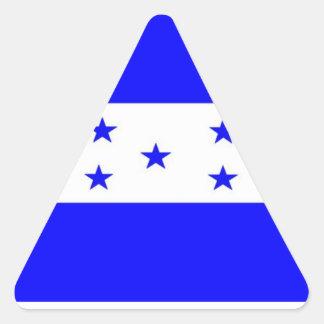 Bandera de Honduras Calcomanías De Trianguladas