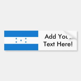 Bandera de Honduras Pegatina Para Coche