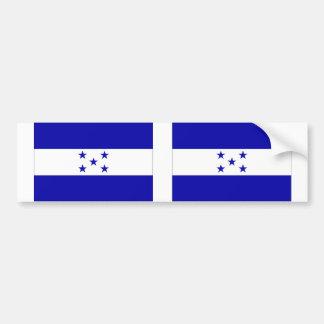 Bandera de Honduras Pegatina De Parachoque