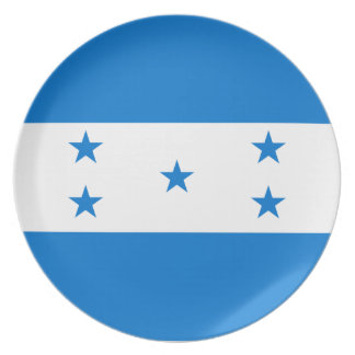 Bandera de Honduras Plato De Comida