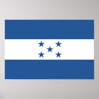 Bandera de Honduras Póster