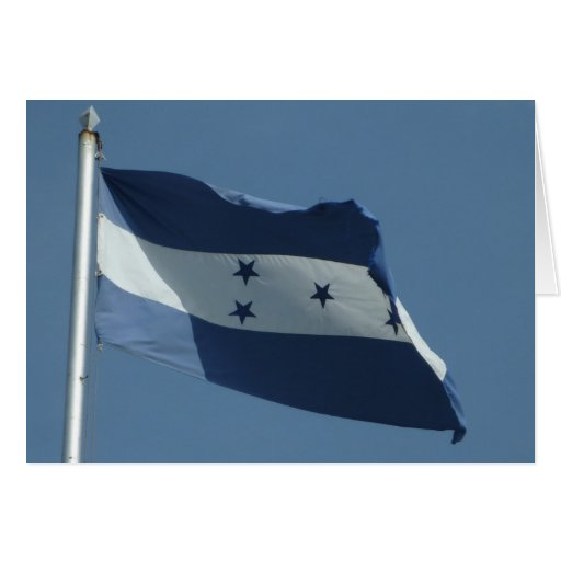 bandera de Honduras Tarjetas