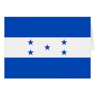 Bandera de Honduras Tarjeta