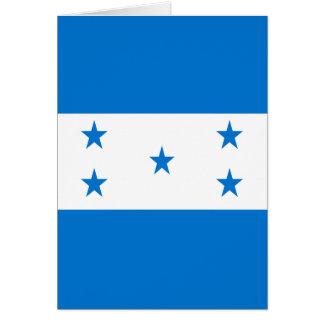 Bandera de Honduras Tarjetón