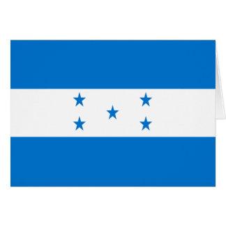 Bandera de Honduras Felicitacion