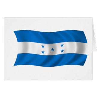 Bandera de Honduras Tarjeta De Felicitación