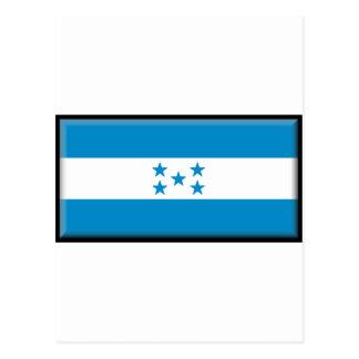 Bandera de Honduras Tarjetas Postales