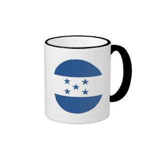 Bandera de Honduras Taza De Dos Colores