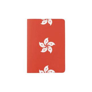 Bandera de Hong Kong - 香港特別行政區區旗 - 中華人民共和國香港特別行政區 Portapasaportes
