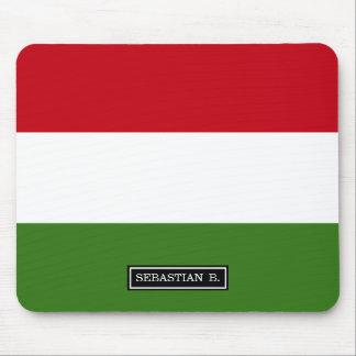Bandera de Hungría Alfombrilla De Ratón