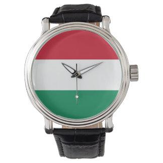Bandera de Hungría Reloj