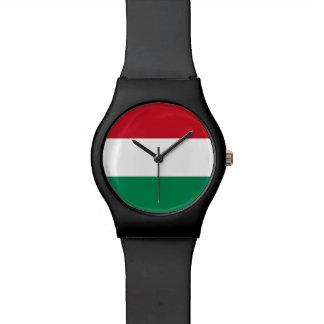 Bandera de Hungría Reloj De Pulsera