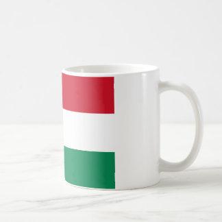 Bandera de Hungría Taza De Café