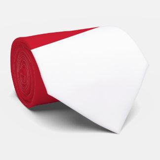 Bandera de Indonesia/de Mónaco Corbatas