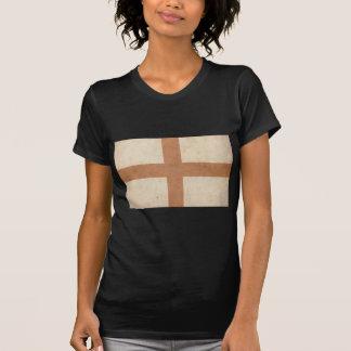 Bandera de Inglaterra del vintage Camiseta