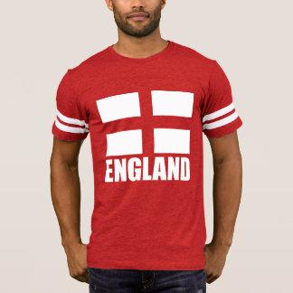 Bandera de Inglaterra en tela roja Camiseta