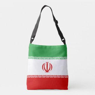 Bandera de Irán Bolso Cruzado