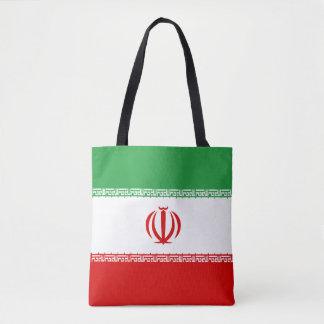 Bandera de Irán Bolso De Tela
