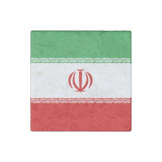 Bandera de Irán Imán De Piedra