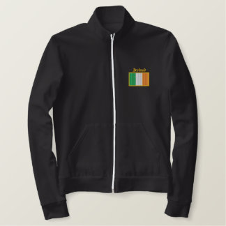 Bandera de Irlanda Chaqueta Bordada