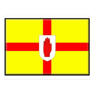 Bandera de Irlanda del Norte Postal