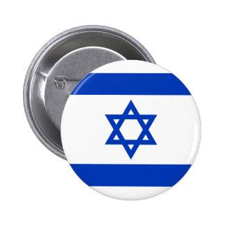 Bandera de Israel Chapa Redonda De 5 Cm