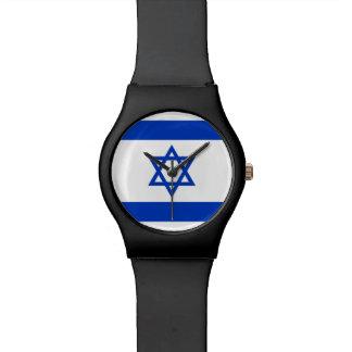 Bandera de Israel Reloj De Pulsera