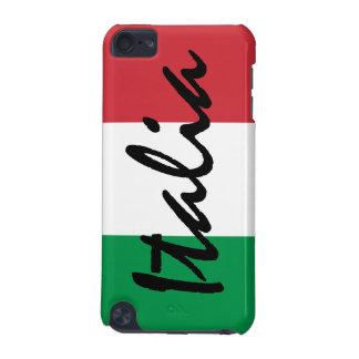 Bandera de Italia del italiano Funda Para iPod Touch 5