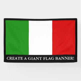 Bandera de Italia Lona